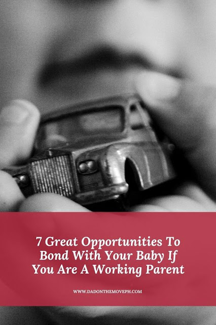 Bonding opportunities with your baby