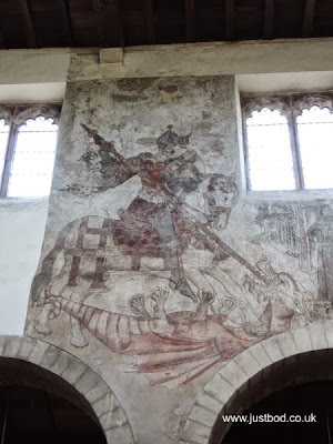 St Peter's and St Paul's Pickering Medieval Wall Paintings