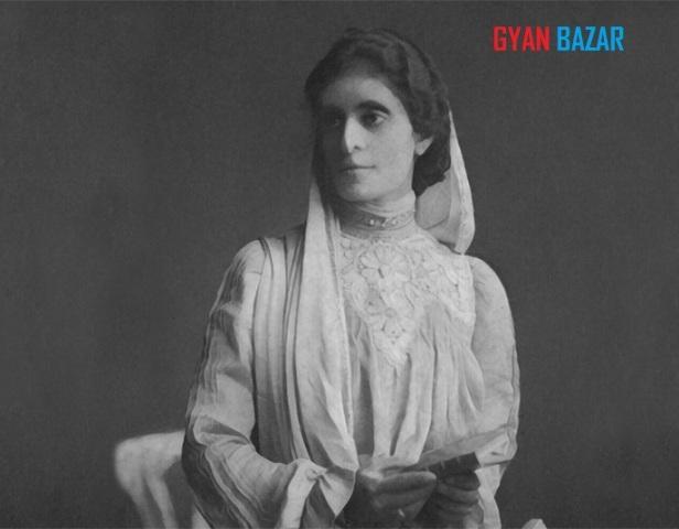पहली भारतीय महिला बैरिस्टर कॉर्नेलिया सोराबजी।