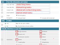 Cara Membuat Policy Privacy Blog Online Tanpa Harus Menulis Manual