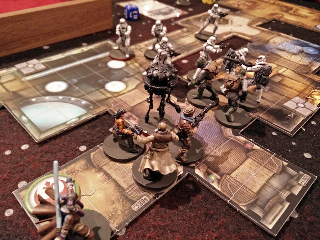 Imperial Assault from FFG Sympathy for the Rebellion mission