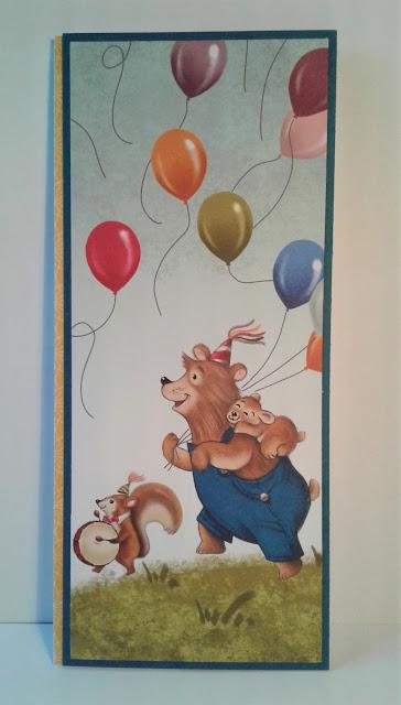 Birthday Memories, Birthday Friends, Stampin' Up, Framelits, Little Golden Books