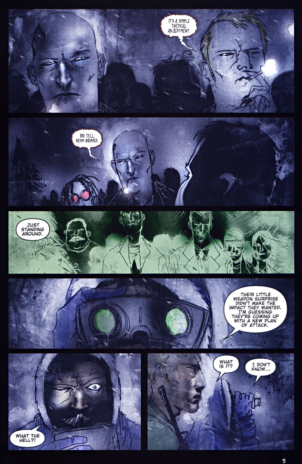 Read online 30 Days of Night: Return to Barrow comic -  Issue #5 - 6