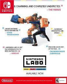 Nintendo Labo Toy Con 02 Robot Kit [Nintendo Switch] Oyun İndir [Google Drive-Mega]