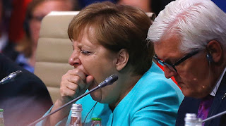 Merkel  vows to work for Germany, Europe