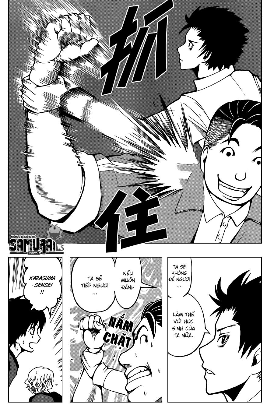 Ansatsu Kyoushitsu chap 40 trang 9