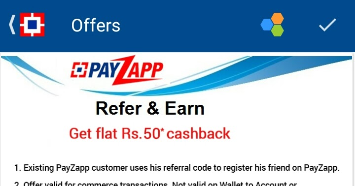 How to earn money from payzapp by/HDFC BANK