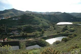 Charcas de San Lorenzo en el barranco de Mascuervo