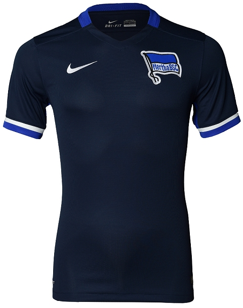 The Nike Hertha BSC Berlin 2015-16 Third Shirt is kept simple fc2da6db9