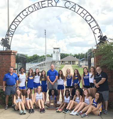 Catholic Girls Track Brings Home State Championship! 1