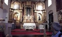 visite de l'église Santa Barbara avec P. Juan Carlos Berajano
