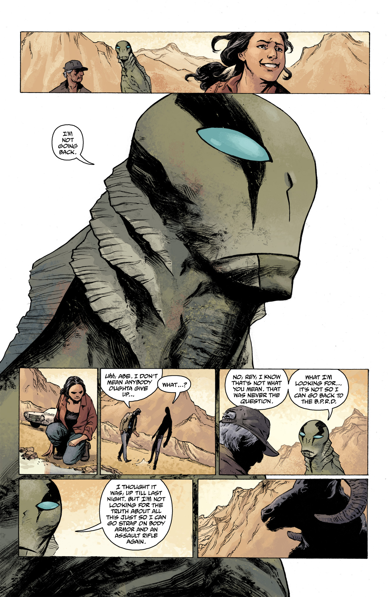 Read online Abe Sapien comic -  Issue #7 - 10