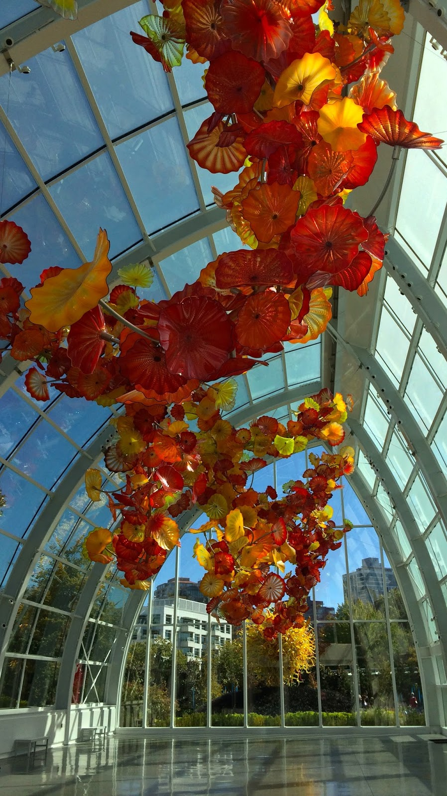 Around Seattle: Chihuly Garden and Glass