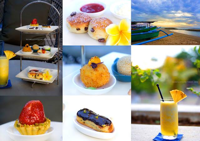 "Menikmati ""Afternoon Tea""  di Sands Restaurant - The Anvaya Beach Resorts Bali"