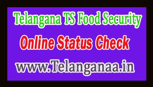 Telangana State TS Ration Card Status Online