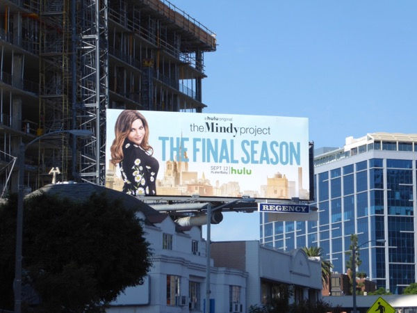 Mindy Project season 6 billboard
