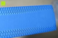 Seitenfläche: High Pulse Balance Pad – Die gelenkschonende Koordinationsmatte zum Training von Gleichgewicht und Stabilität sowie zur Therapie nach Muskelverletzungen (Blau)