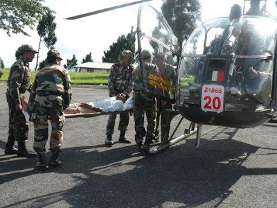 PHOTOS: Army Choppers In Sikkim Rescue Ops
