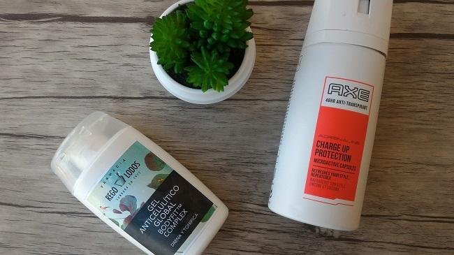 Anticelulítico de Rego Lodos y Desodorante AXE
