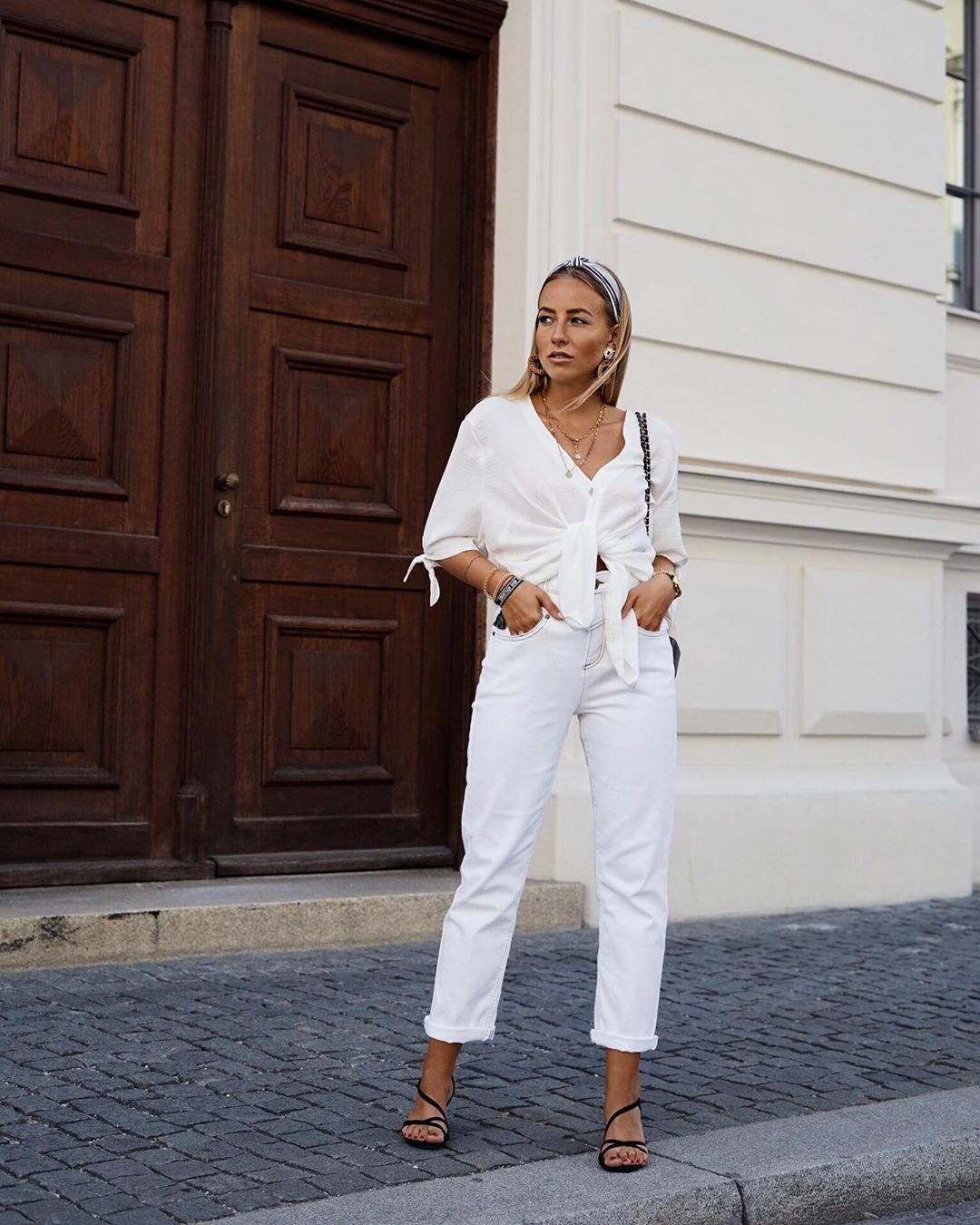 Wearing an All-White Outfit Is the Freshest Way to Dress for Spring