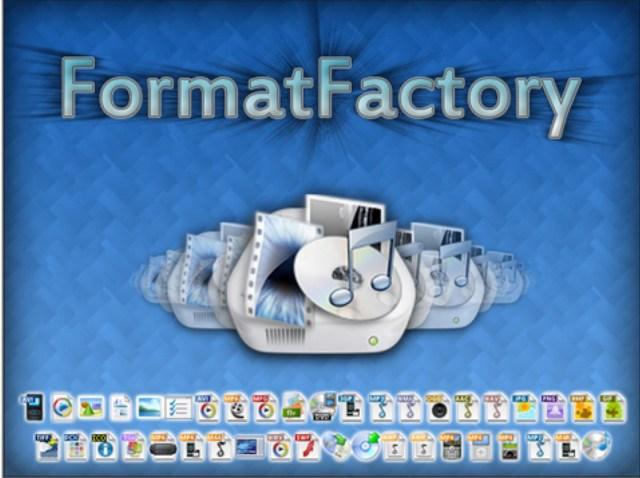 برنامج قوي للتحويل بين جميع صيغ الفيديو و الصوت FormatFactory 3.7.5.0 Final