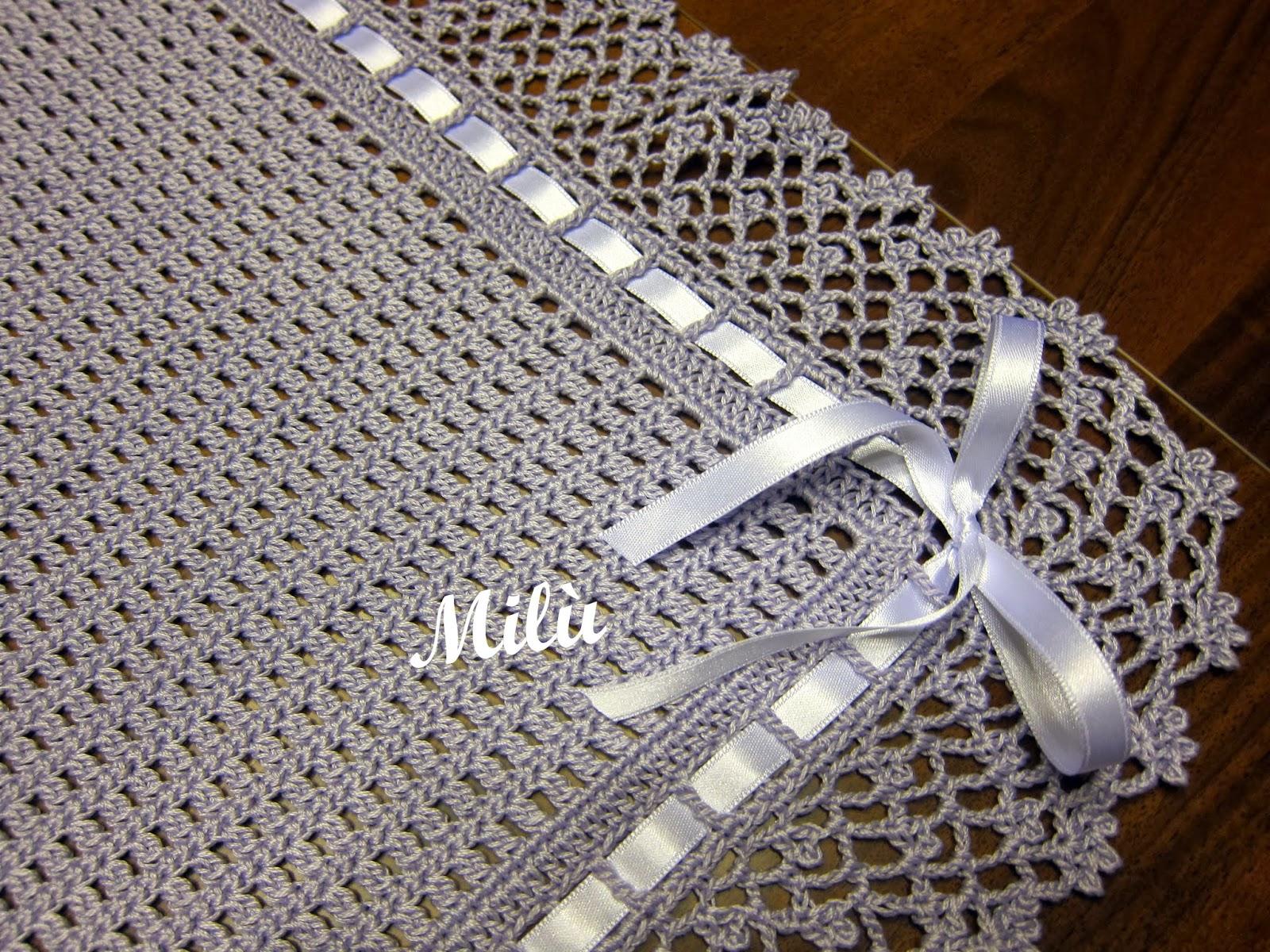 Lo Spazio Di Lilla Copertina Crochet Per Neonato Con I Classy World