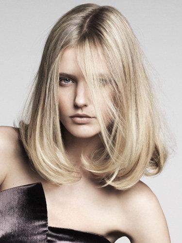 chic medium haircuts 2013 for women