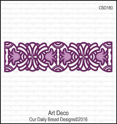 ODBD Custom Die: Art Deco