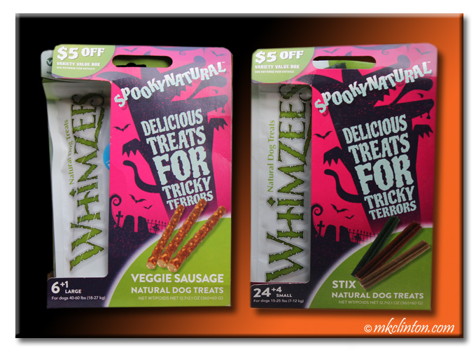 Whimzees #SpookyNatural Delicous Treats for Tricky Terrors