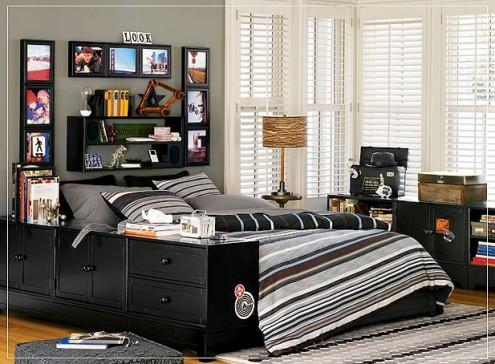 Dormitorios juveniles para hombres alife 39 s design for Dormitorios juveniles modernos de diseno