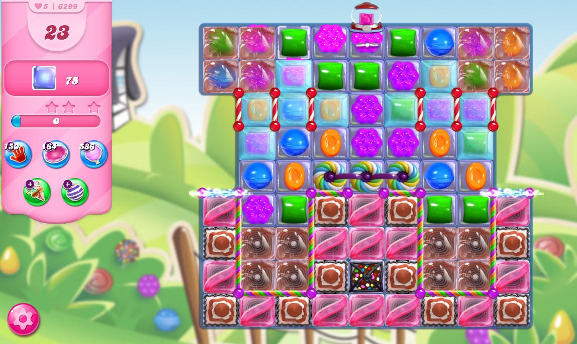 Candy Crush Saga level 6299