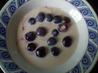 desayuno-saludable. desayuno-cerezas
