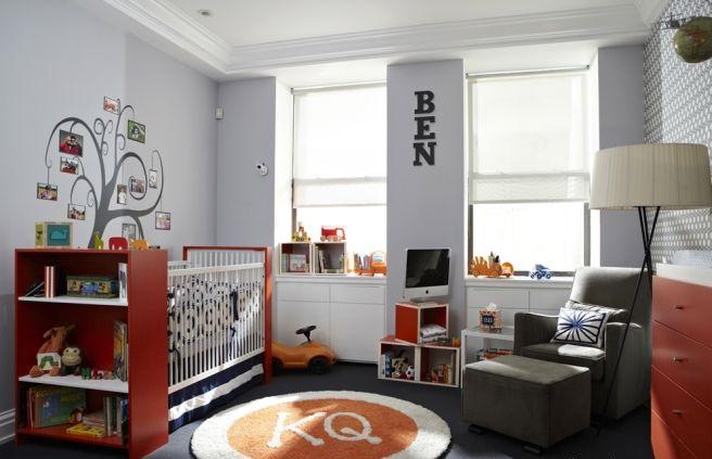 Dormitorio para beb var n ideas para decorar dormitorios for Cuarto de bebe varon