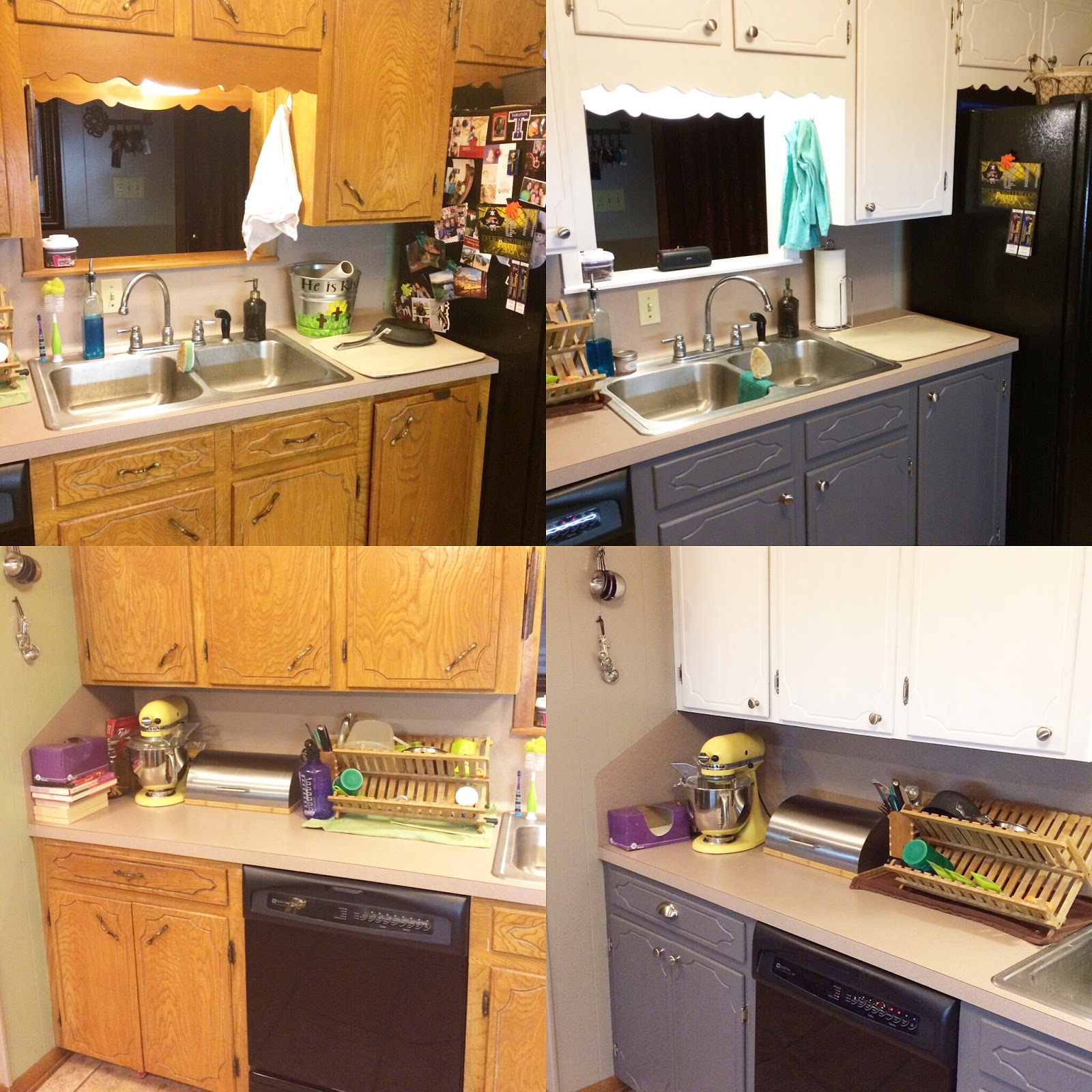 Crazy Little Thing Called Life: Updated Kitchen Cabinets