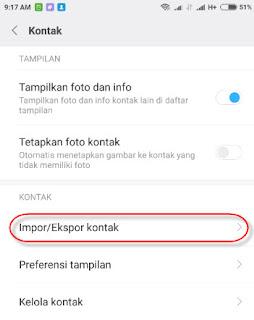 Salah satu data wajib dan penting yang terdapat di hampir semua smartphone android termasu Cara memindahkan ( Export / import) data kontak di hp xiaomi dengan mudah