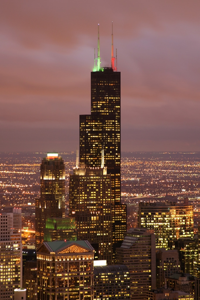 Picture of the Sears Tower (now Willis Tower)