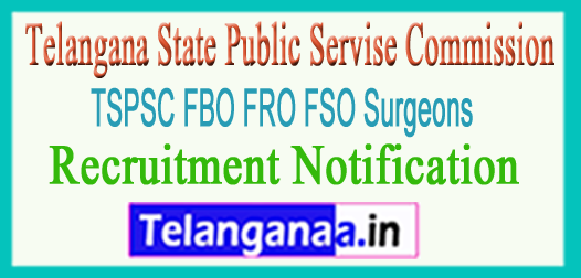 TSPC FBO FRO FSO Surgeons Recruitment Notification Apply Online 2017