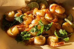 Fiery Honey Lime Shrimp