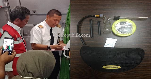 Pilot Warga Malaysia Di Ciduk BNNP Kepri