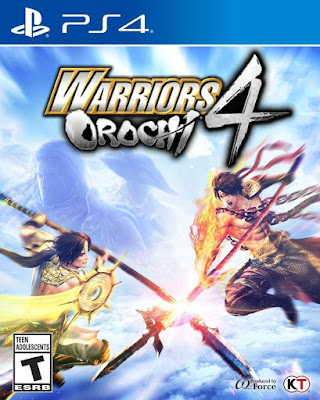 Warriors Orochi 4 Game Cover Ps4