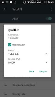terhubung wifi id gratis tanpa login melalui smartphone