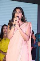 Pujita Ponnada in transparent sky blue dress at Darshakudu pre release ~  Exclusive Celebrities Galleries 042.JPG