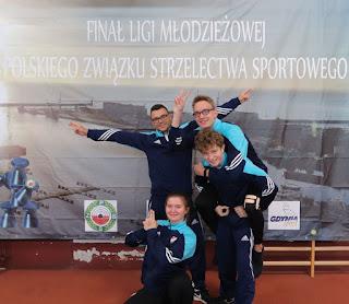drużyna ZKS Gwardia strzelectwo trener Komolka