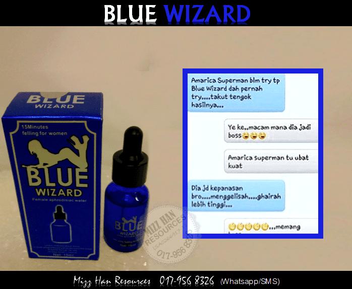 blue wizard mhr stokis produk kecantikan