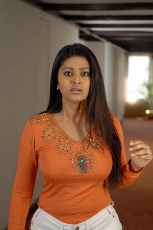 Indian Actress Tamil Actress Sneha Hot Showing Her -5803