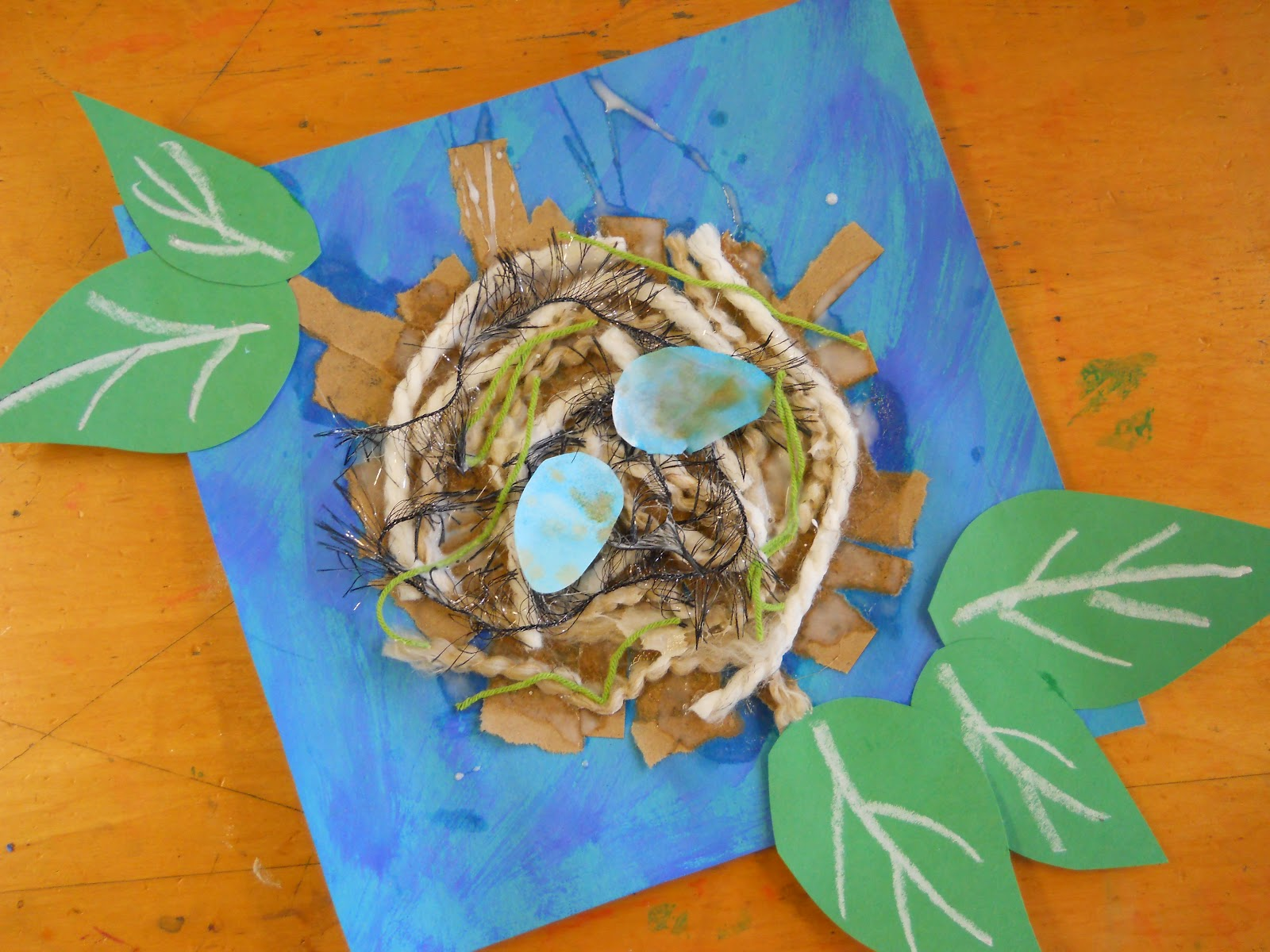 The Elementary Art Room!: Mixed Media Nests