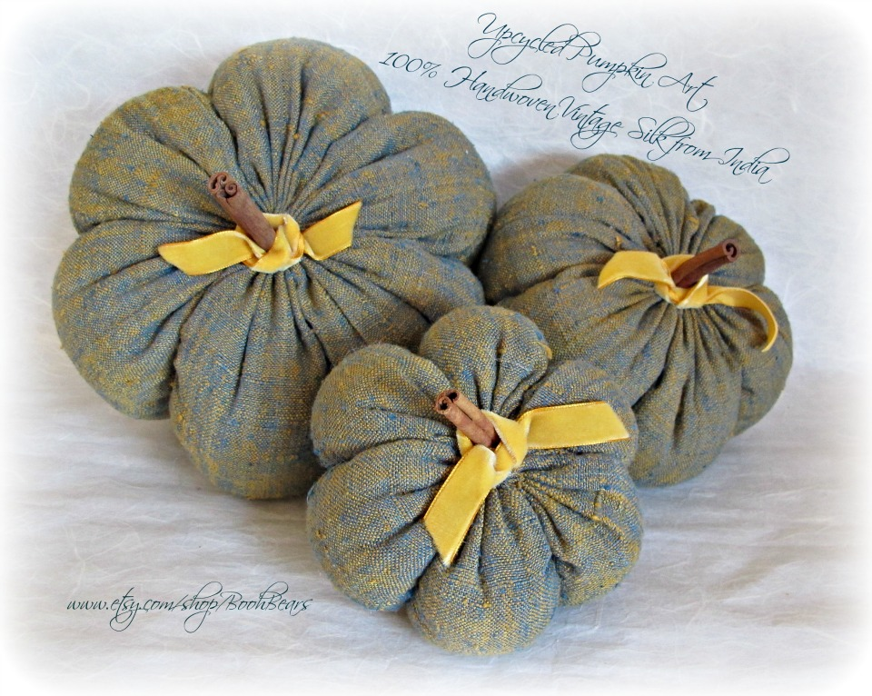 """Wish You Were Here, Mom: More Fabric """"Pumpkins"""" in my etsy ..."""