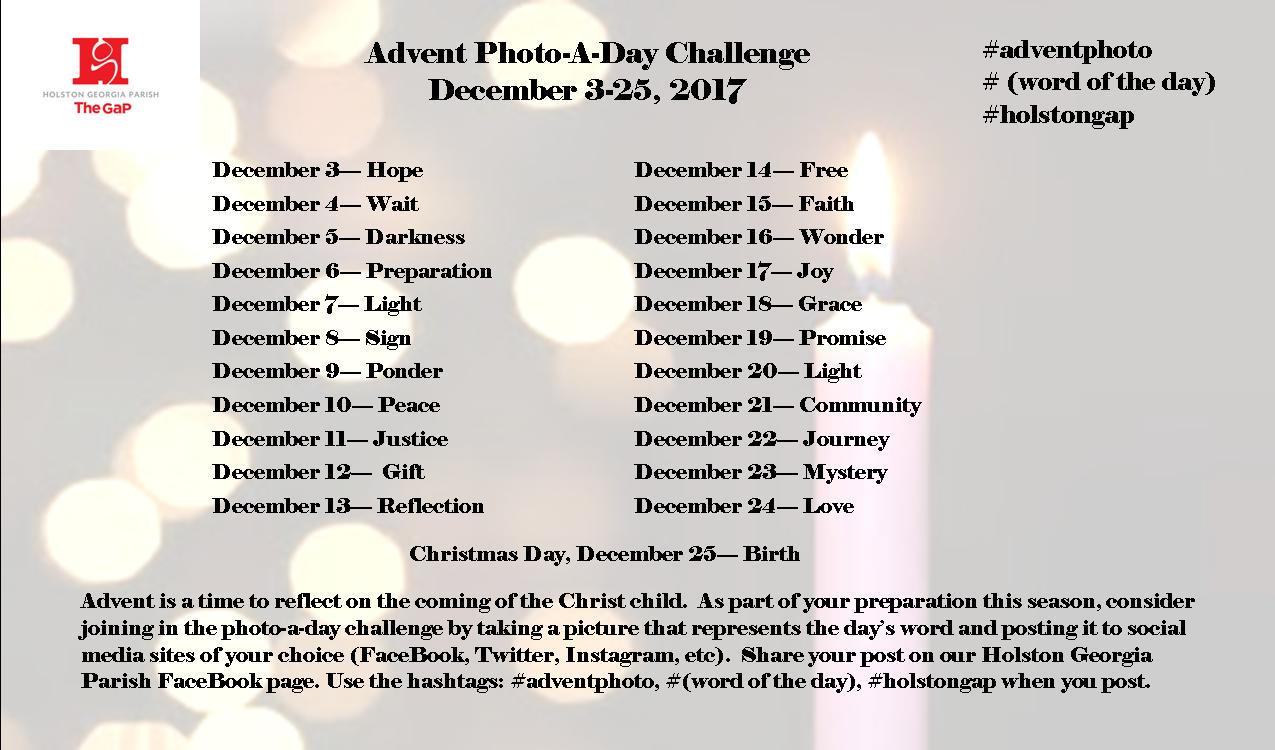 Since Last Week I Did Another Search On Social Media For Adventphoto And Found Several Groups Besides Rethinkchurch With Advent Photo A Day