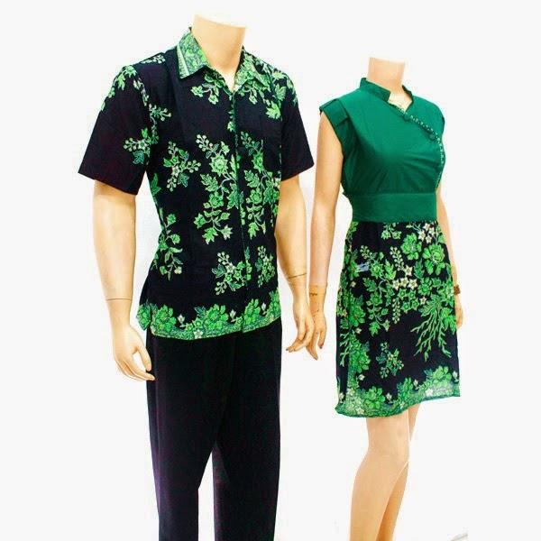 Baju-Batik-Pasangan-Modern-remaja