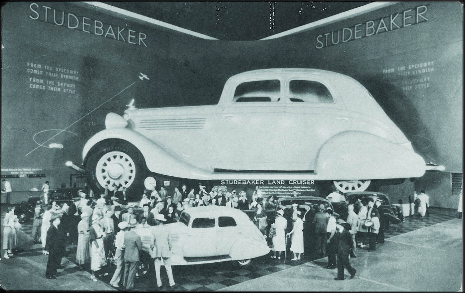 Vintage Motoring Studebaker And The 1933 34 Chicago